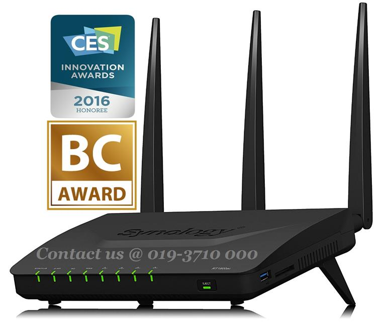SYNOLOGY RT1900AC HIGH-SPEED WIRELESS ROUTER