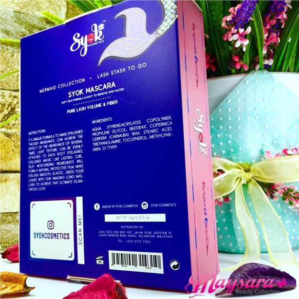 dc3bc1896e4 SYOK MASCARA ~ Mermaid Collection (Mascara + Curler) by Syok Cosmetics