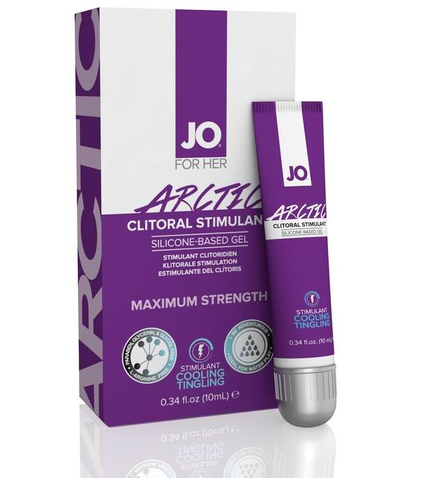 System Jo ARCTIC Gel 10ml Clitoral Stimulant MAXIMUM STRENGTH Sex Play