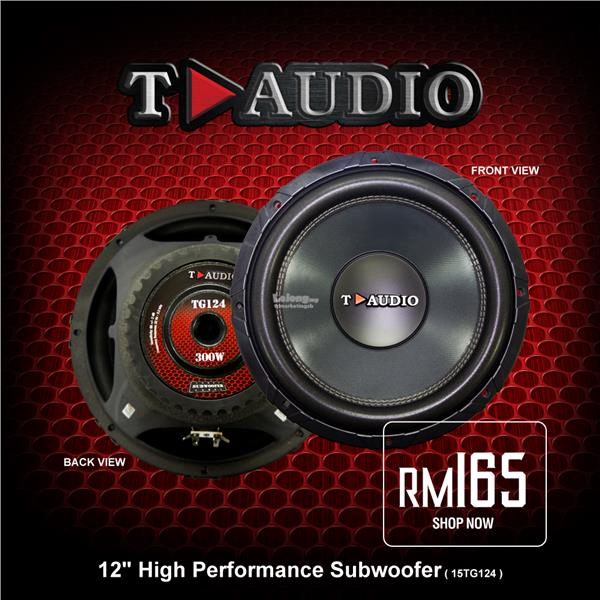 9cea655d110 T-Audio 12 Inch High Performance Su (end 3/20/2020 11:15 AM)