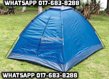 T BLUE Khemah Waterproof Tent + Kelambu Nyamuk Mosquito Insect Canopy & T BLUE Khemah Waterproof Tent + Kel (end 8/28/2017 10:59 AM)