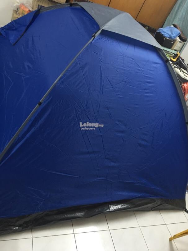 T BLUE Khemah Waterproof Tent + Kelambu Nyamuk Mosquito Insect Canopy & T BLUE Khemah Waterproof Tent + Kel (end 12/26/2018 6:00 PM)