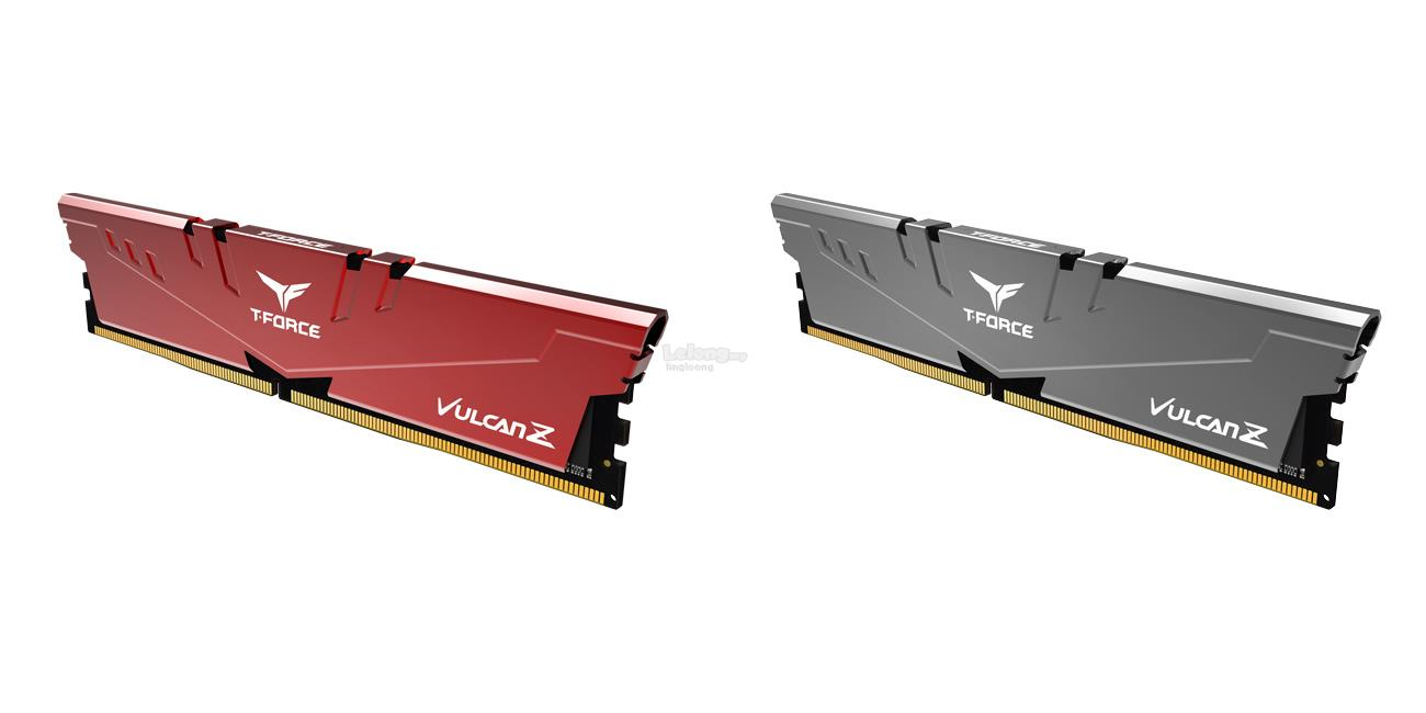 # T-FORCE Vulcan Z (1x8GB) 3200MHz DDR4 Single Memory # Red/Gray