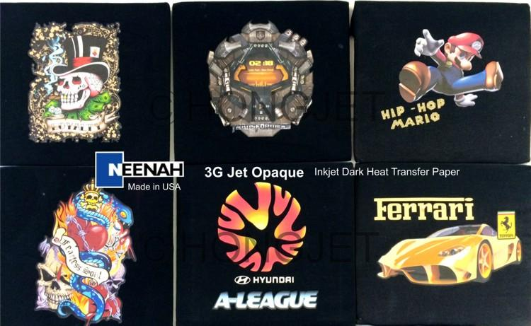 T-shirt Heat Transfer Paper - 3G Jet (end 1/14/2020 6:15 PM)