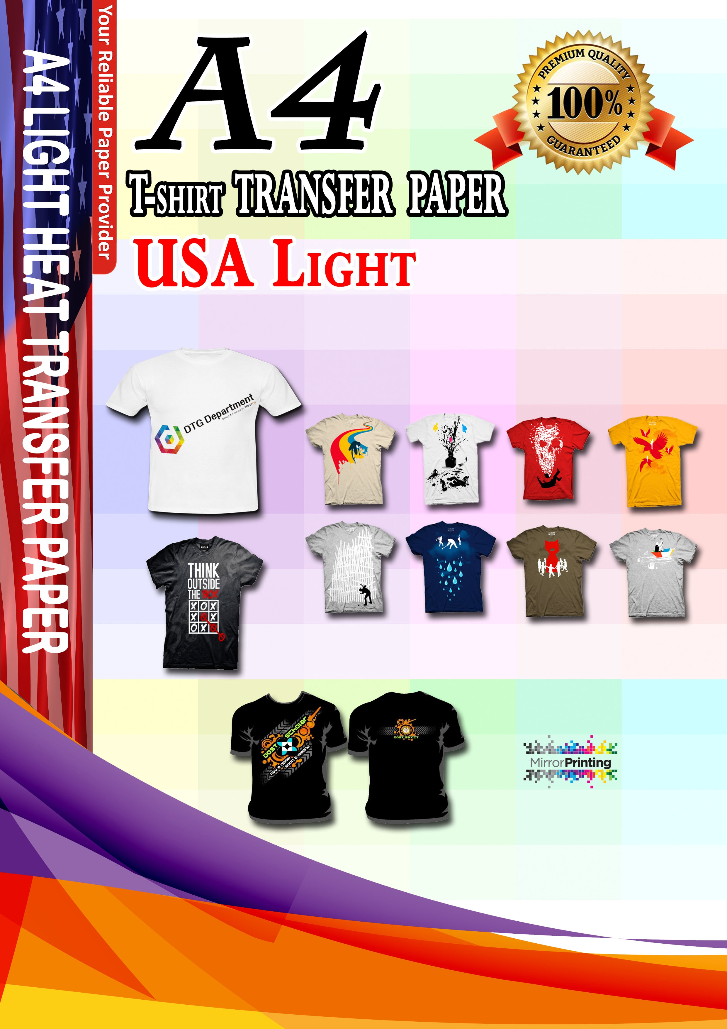 Heat Transfer Paper For T Shirt Printing - DREAMWORKS