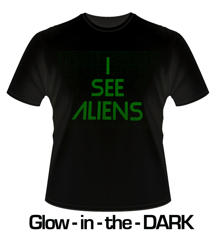T-shirt Printing - GLOW-in^^the-dark