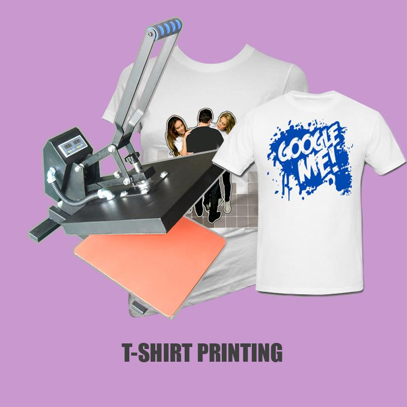 T Shirt Transfer Printing Package Start Up Business With Heat Press