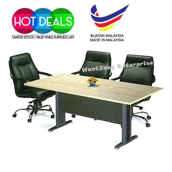 T Series TV Office System Writin End PM - Round conference table for 4
