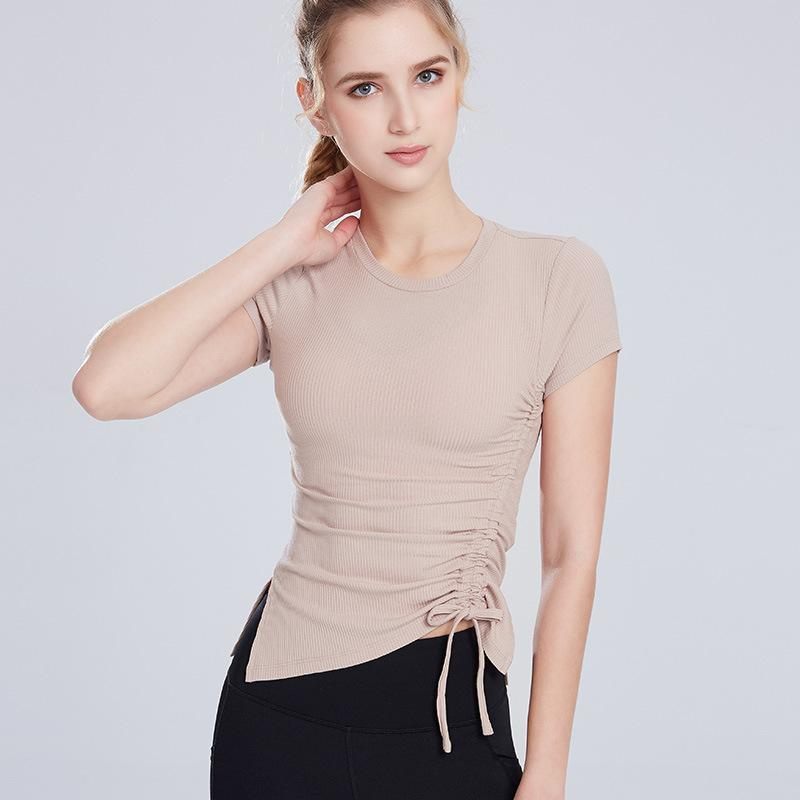 [T411] Short Sleeve Sports Top