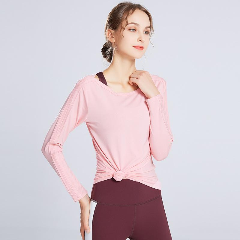 [T467] Long Sleeve Fitness T-Shirt