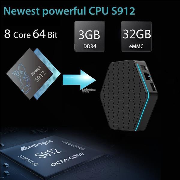 T95Z Plus 3gb 32gb Android 7 1 Smart Tv box ( MI mibox IPTV tvbox)