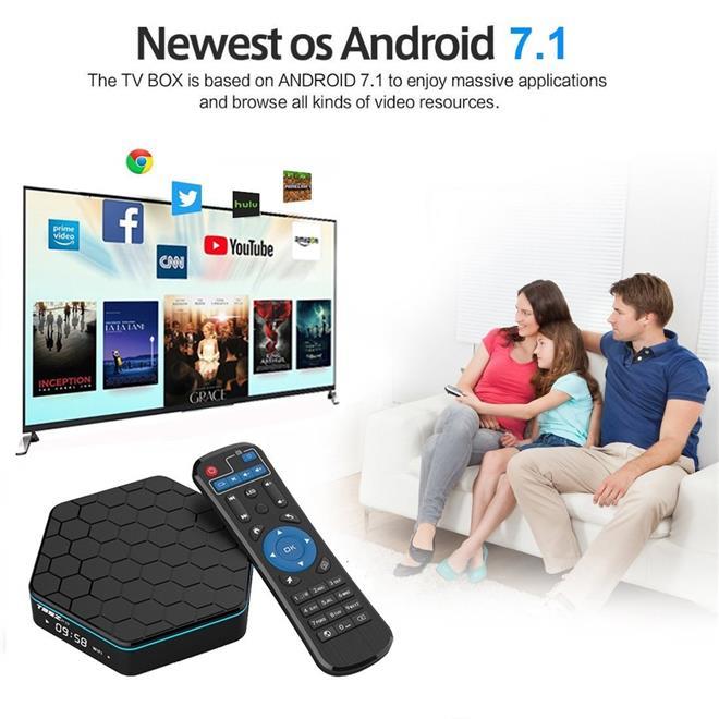 T95Z Plus Amlogic S912 Octa Core 3GB+32GB Android TV Box / IPTV / 4K