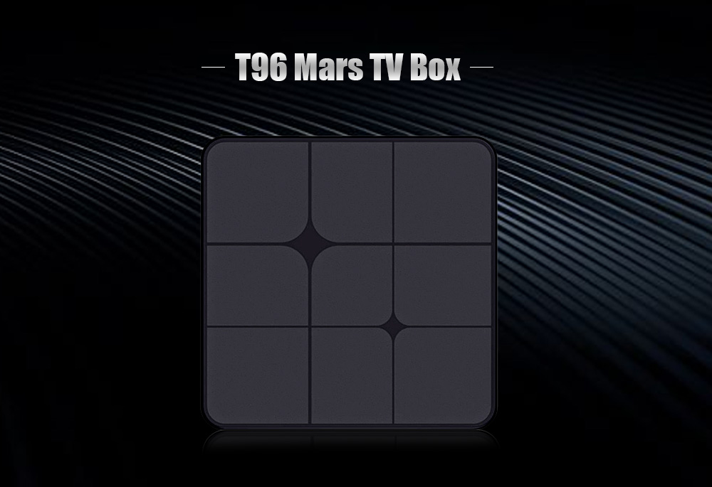 T96 Mars TV Box RK3229 / Android 7.1 / 1GB RAM + 8GB ROM