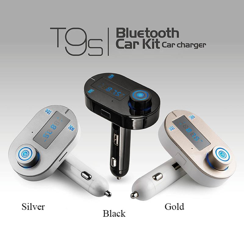 T9S Car Bluetooth Mp3 FM Transmitter and modulator