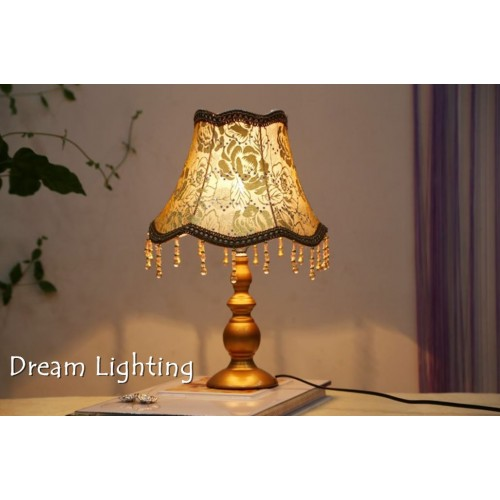 Table Lamp Side Table Night Light Side Table Soft Mood Gold / Brown