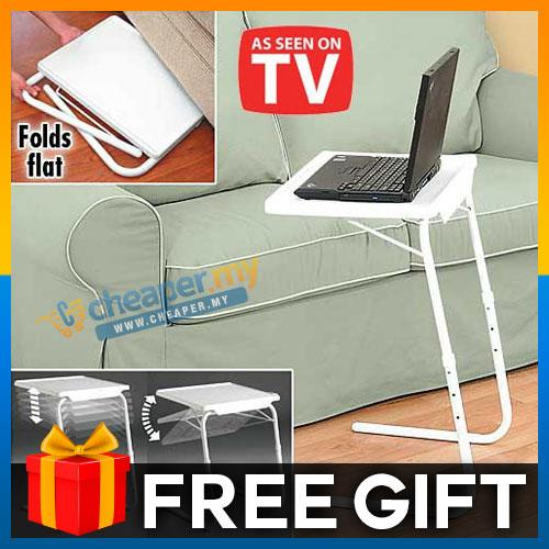 Table Mate 2 Foldable Portable Adjustable Multi-Purpose Laptop Tray
