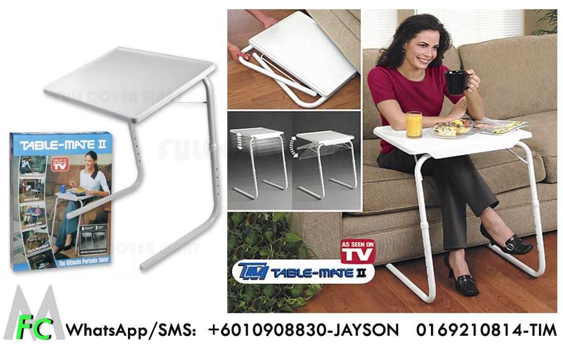 Table Mate 2 Foldable Portable Adjustable Multi Purpose Laptop Tray