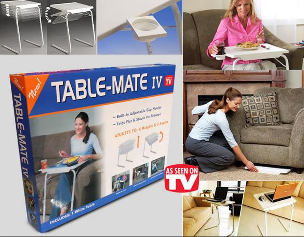 Superbe Table Mate 5 In 1 Smart Table Mate Foldable Folding Table Adjustable