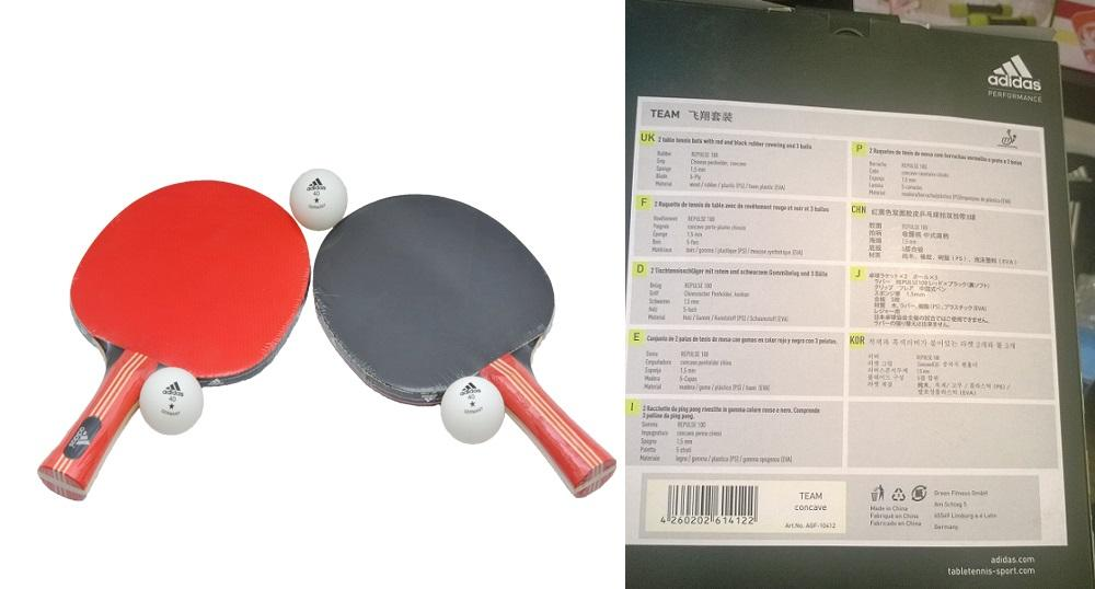 Table Tennis Ping Pong Set (GERMANY) (end 8/1/2019 6:15 AM)