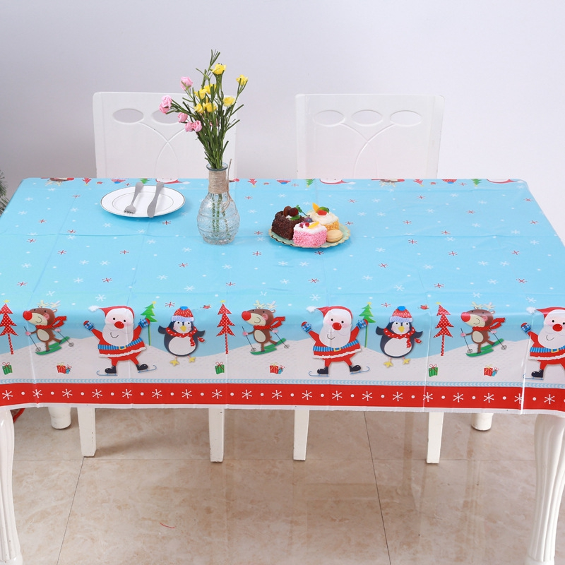 Christmas Tablecloths.Tablecloths 2 X Table Cloths Christmas Tablecloth Kitchen Dining T