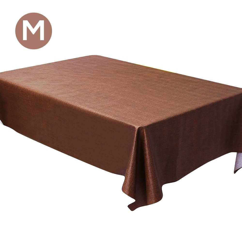 Tablecloths Rectangular 55 x 79 inch Table Covers Dust-Proof Polyester