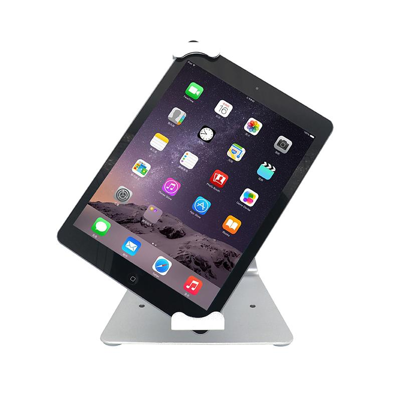 Tablet desktop display anti-theft lock holder