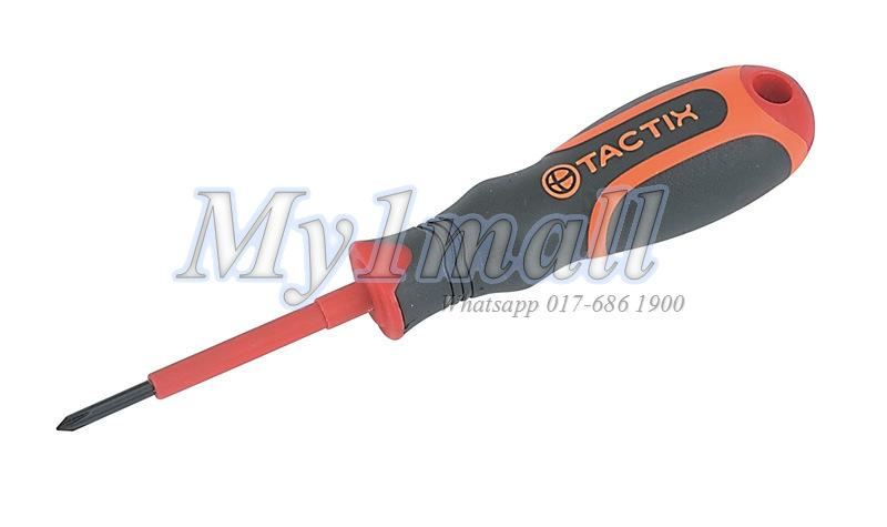 TACTIX 205513 SCREWDRIVER INSULATED PH #1 x 80MM