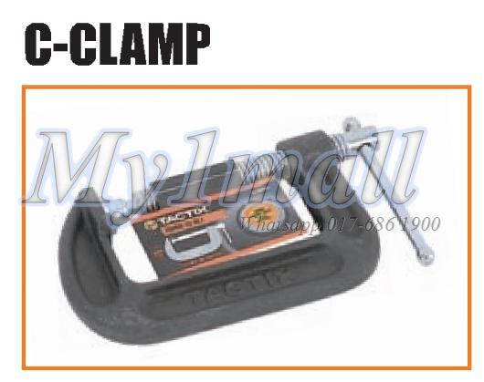 "TACTIX 215003 C CLAMP 3""/75MM"