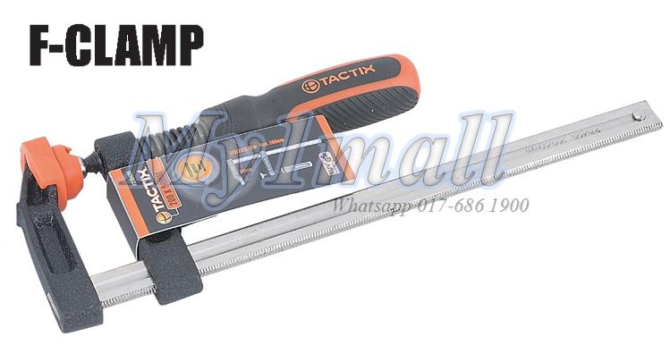 Tactix 215409 300 X 50mm F Clamp Heavy Duty