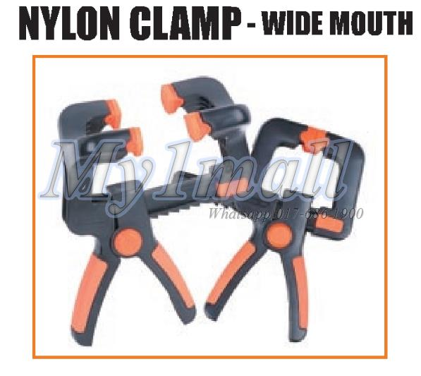 TACTIX 215731 CLAMP WIDE MOUTH 2PC SET 4'+6'