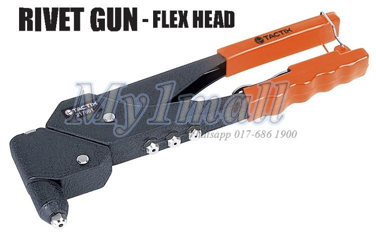 TACTIX 217022 RIVET GUN FLEX HEAD