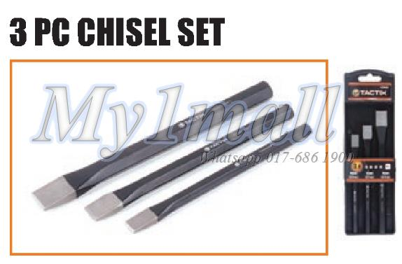 TACTIX 230103 3PC CHISEL SET