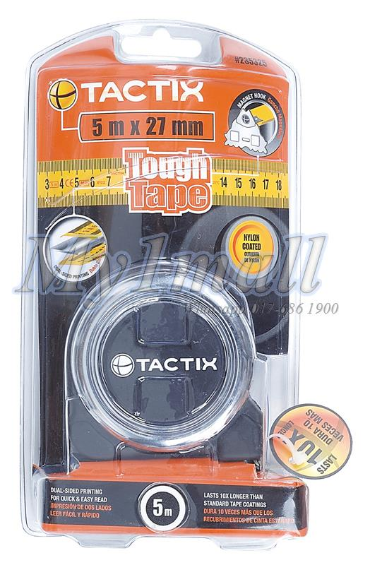 TACTIX 235328 TAPE MEASURE 8MX27MM - TOUGH MID