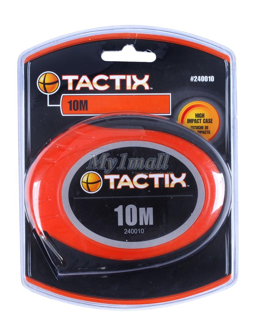 TACTIX 240520 LONG TAPE MEASURE  20M/66'X10MM-STEEL BLADE
