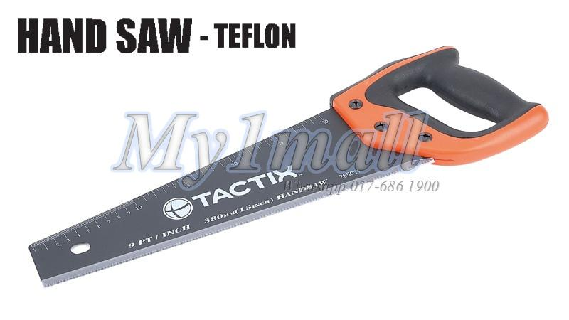"TACTIX 265011 SAW HAND 380MM/15"" TEFLON"