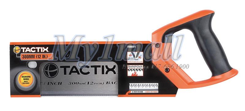 Tactix 266011 300mm 12inch Polish Back Saw