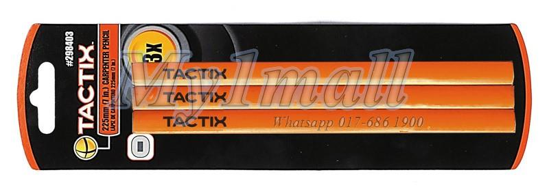 TACTIX 298403 PENCIL CARPENTER 3PC 175MM/7""