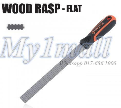 TACTIX 301001 RASP WOOD 200MM/8' FLAT
