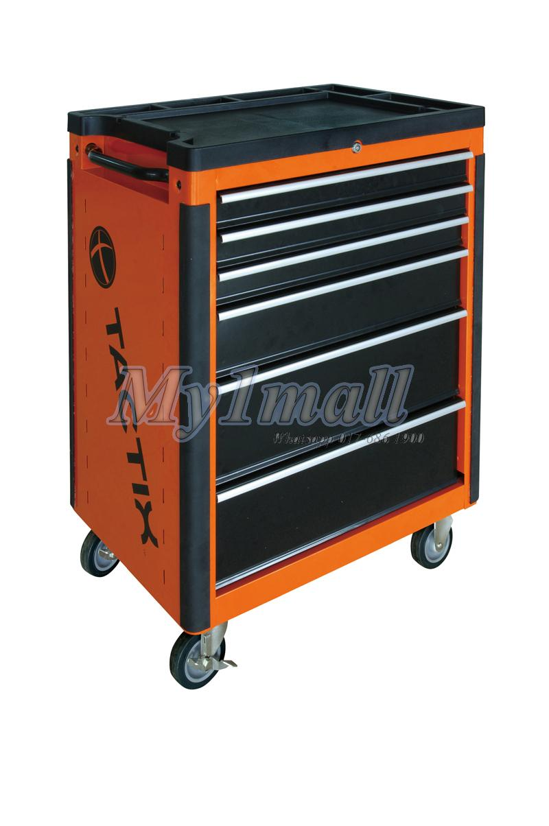 "TACTIX 326024 26"" ROLL-AWAY tool Cabinet"