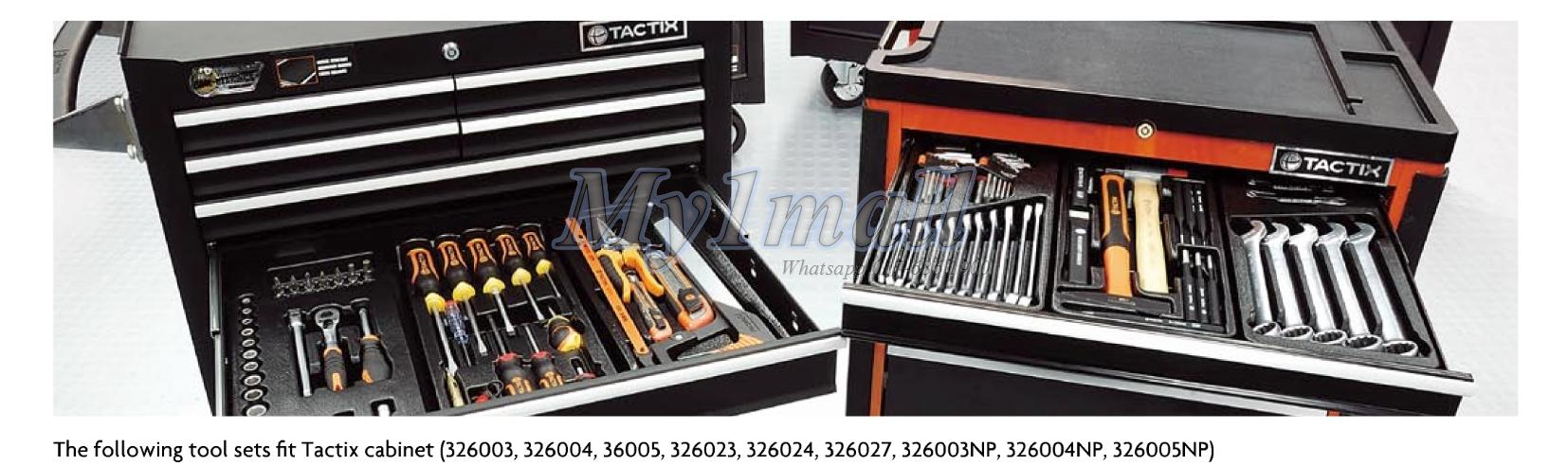 TACTIX 327505 4pcs Cutting Saw Tool Set