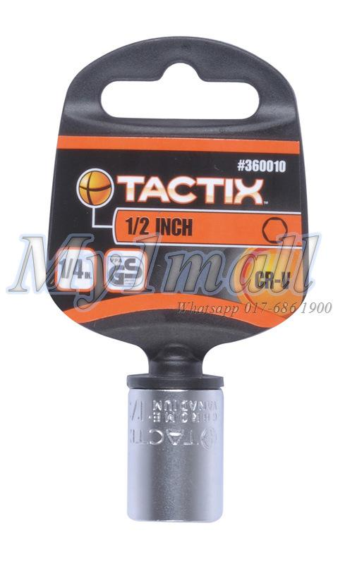 TACTIX 360001,2,3,4,5 SOCKET 1/4'DR 6PT-SET A