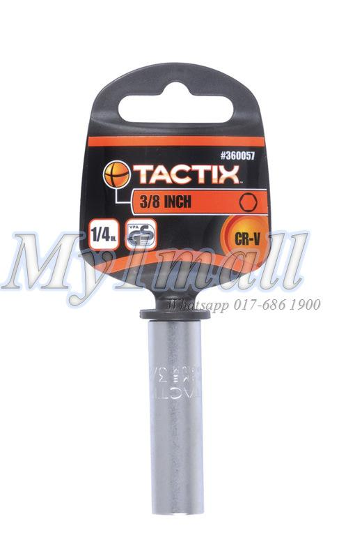 TACTIX 360056,57,58,59 DEEP SOCKET 1/4'DR 6PT -SET B
