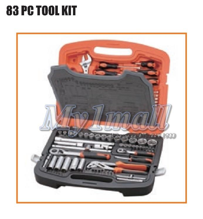 Tactix 365049 Socket & Tool Set 83pcs