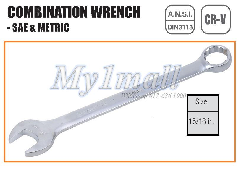 "TACTIX 370125 -15/16"" COMBINATION WRENCH"