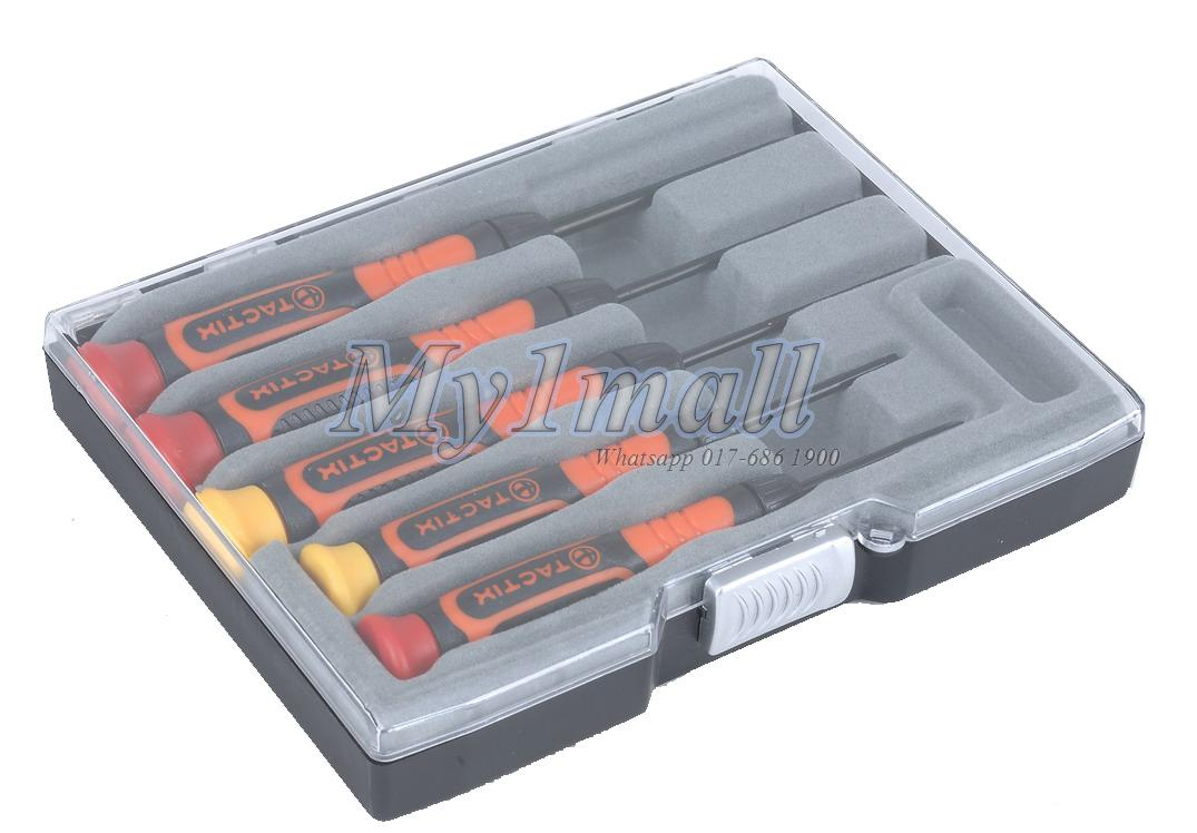 TACTIX 545221 5PC SCREWDRIVER BOX SET