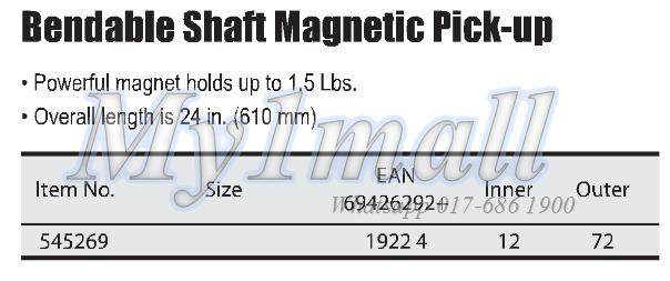 TACTIX 545269 BENDABLE SHAFT MAGNETIC PICK-UP