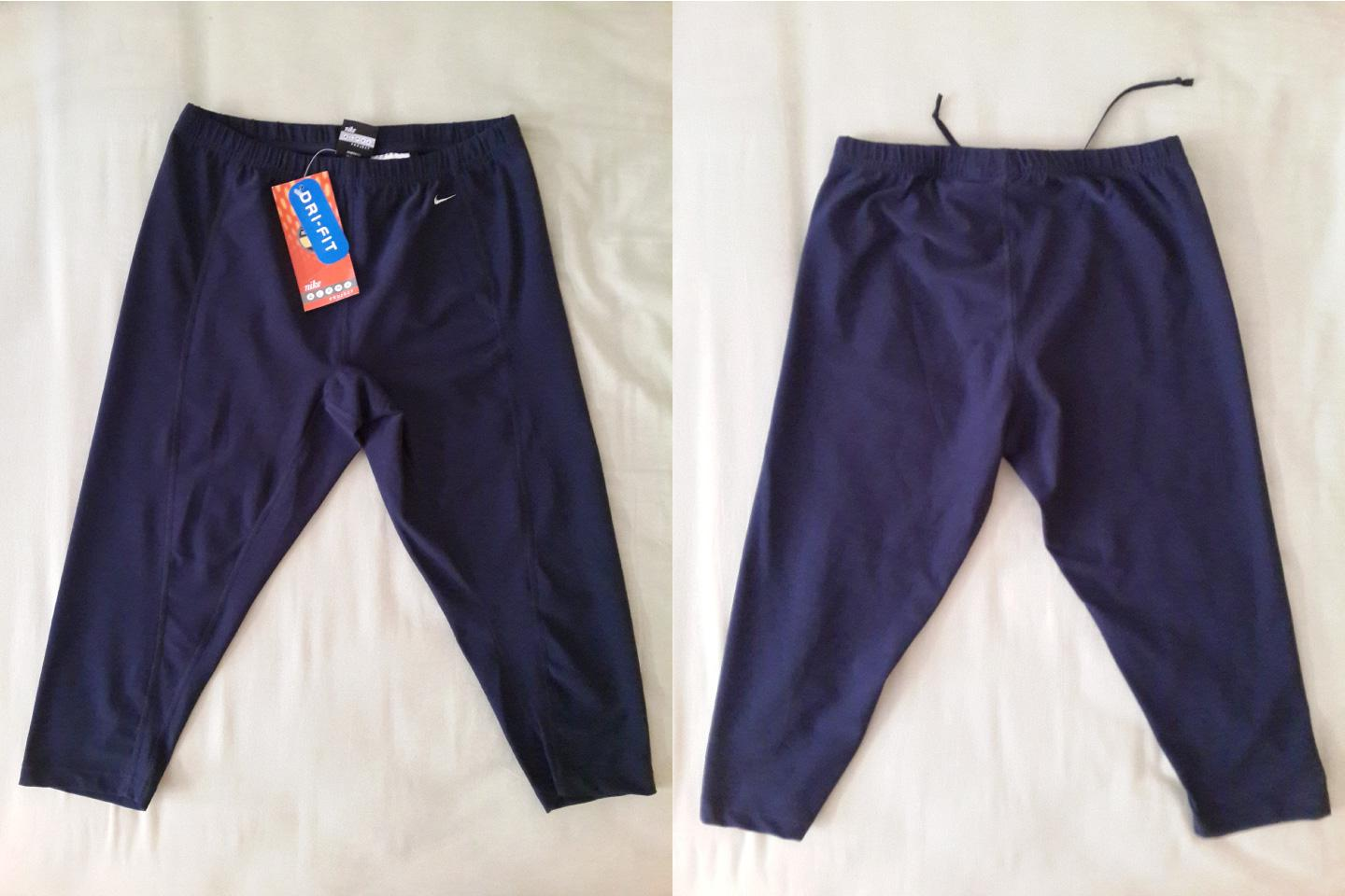 NEW with Tag: Nike Alpha Project Navy Blue Capri Size L (UK)