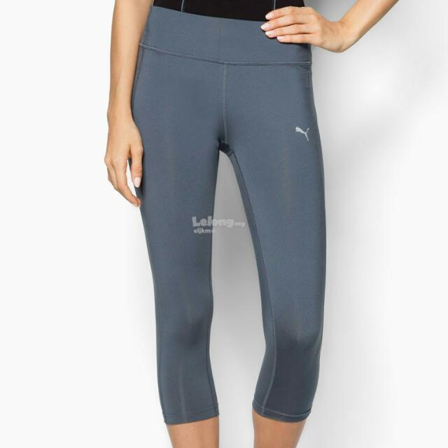 NEW with Tag: Puma Grey Workout Capri L (Int'l)