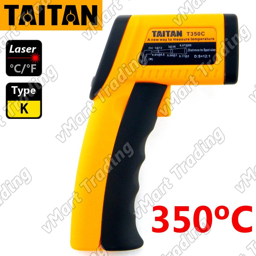 TAITAN T350C+ 2-in-1 Non-contact Infrared with Type-K Thermomeater