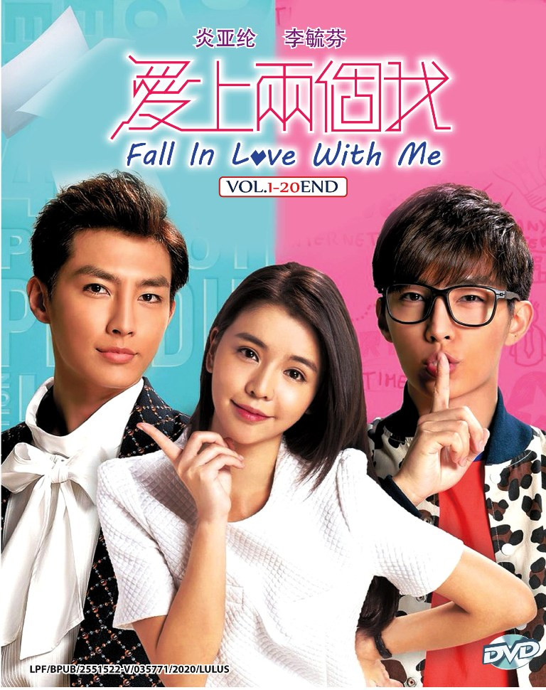 Taiwan TV Drama Fall In Love With Me DVD